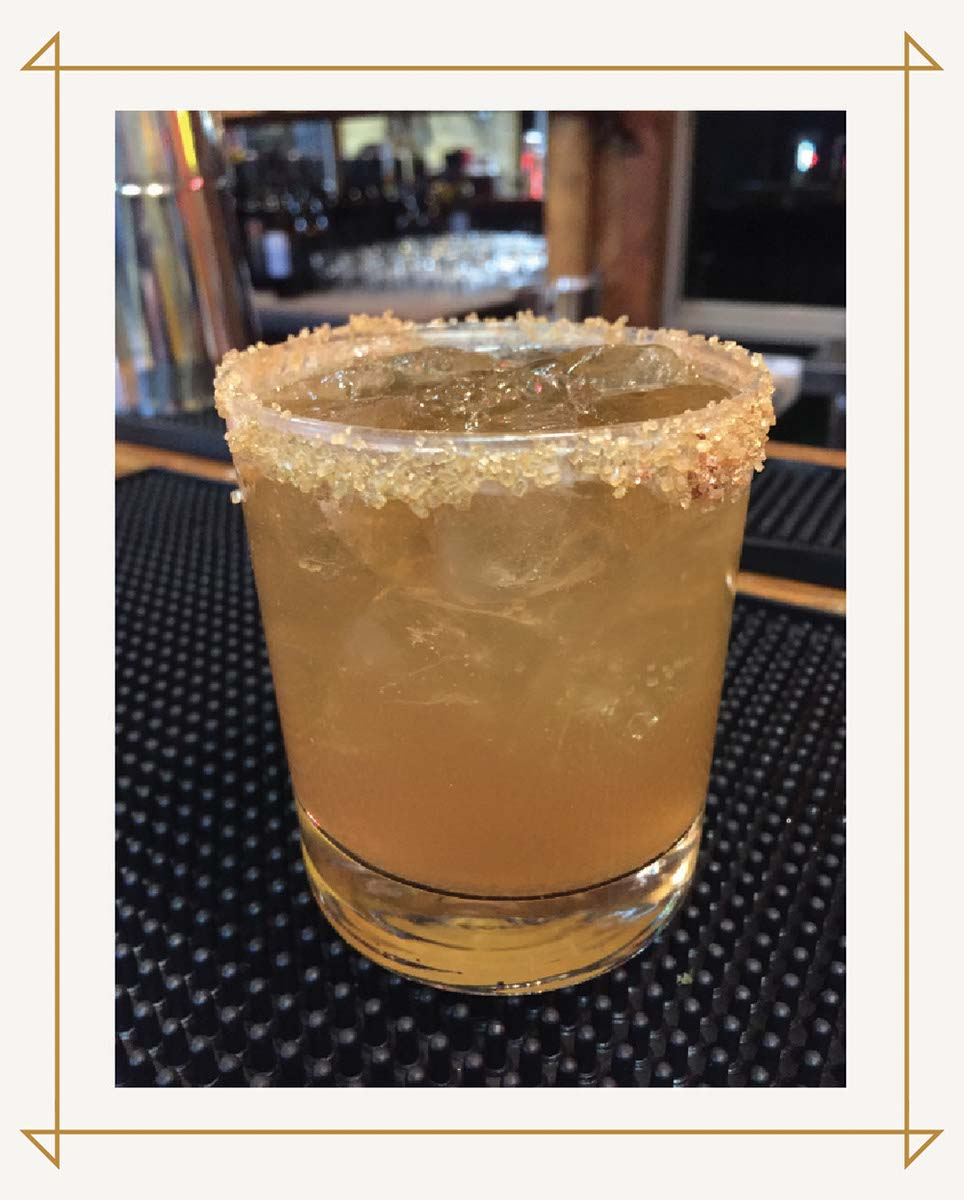 A special bourbon drink mixed up at Greenhorn