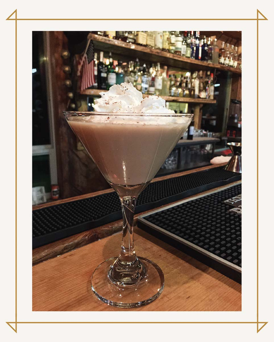 Eggnog Up with whipped cream and freshly ground nutmeg at the Greenhorn Ranch Bar