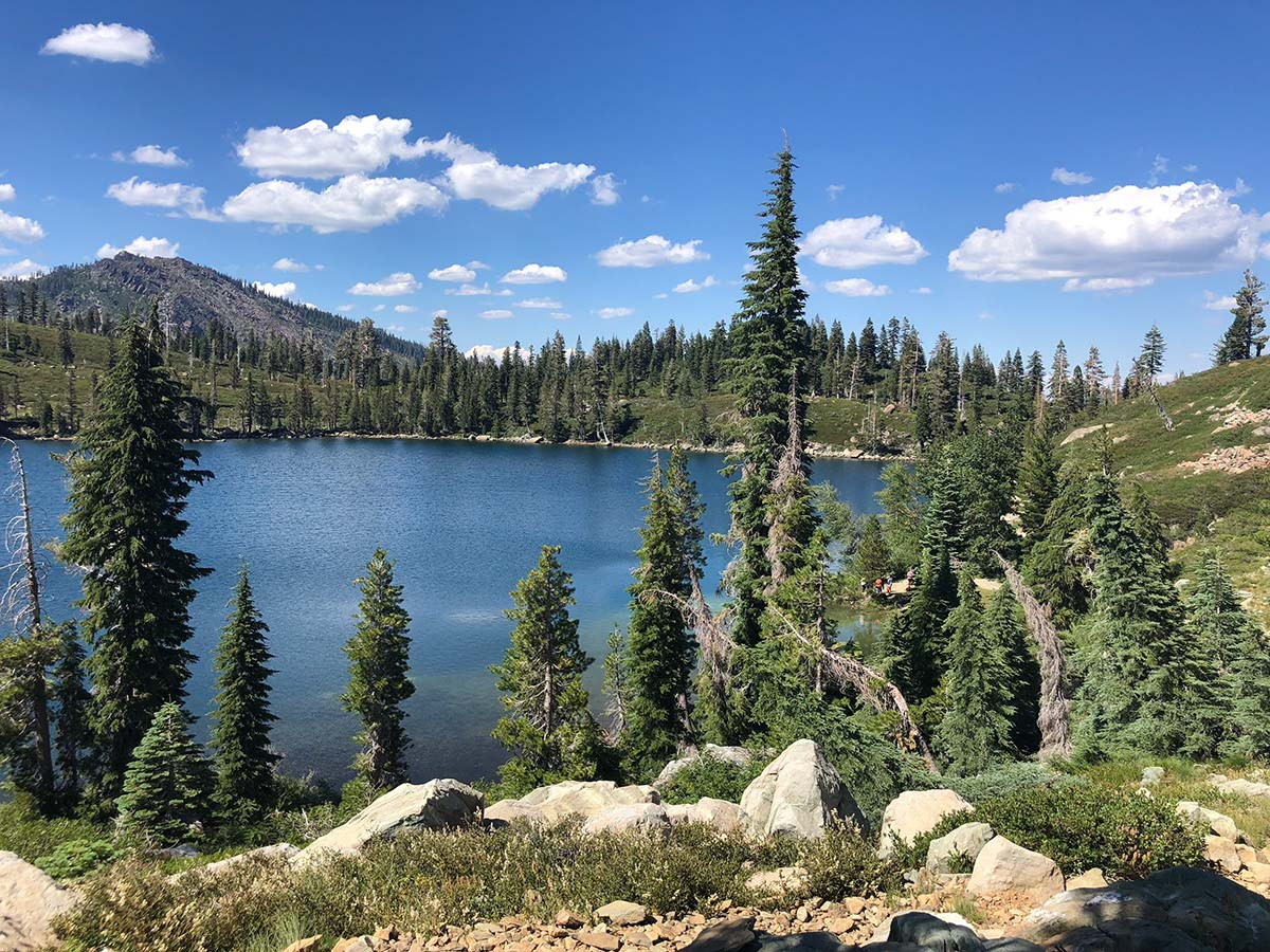 Overlooking Round Lake