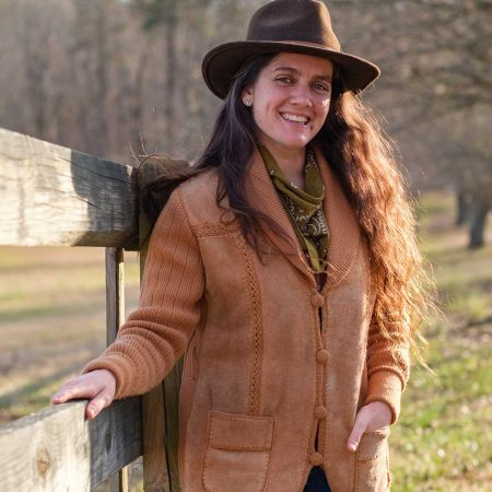 image of Lara Calloway who is the Greenhorn Ranch head wrangler
