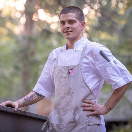 Brendan the Executive Chef at Greenhorn Ranch