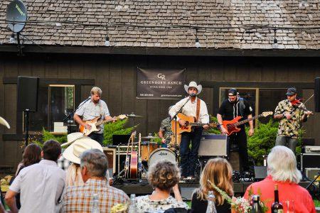 A concert at Greenhorn Ranch