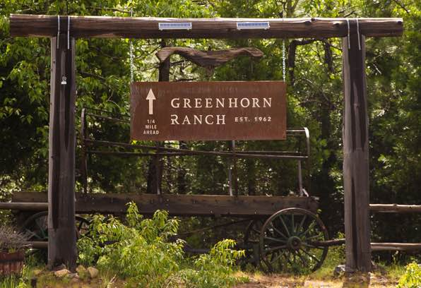 Our Greenhorn Ranch Sign