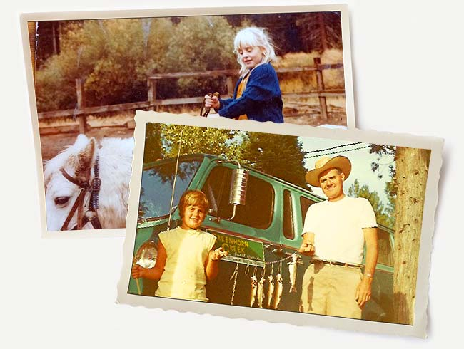 Old photos from Greenhorn Ranch
