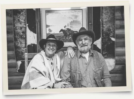 Ralph & Trish at Greenhorn Ranch