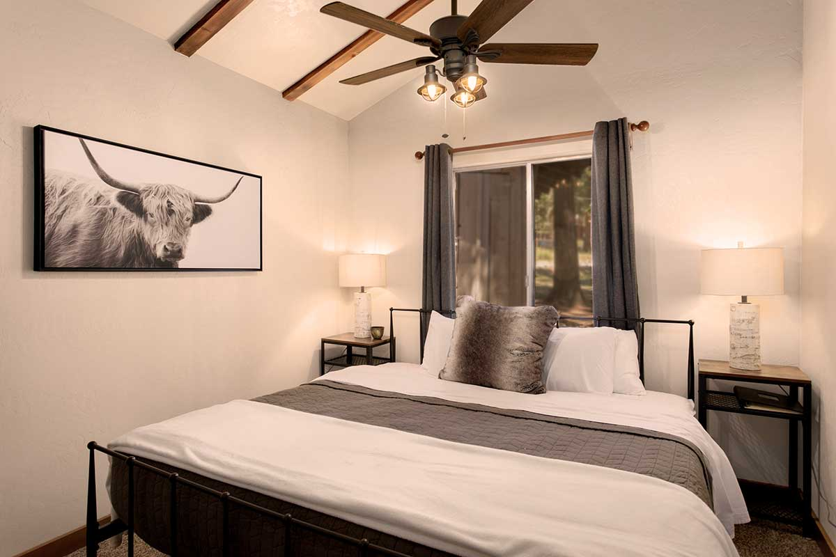 Interior design of our Pines Cabins at Greenhorn Ranch